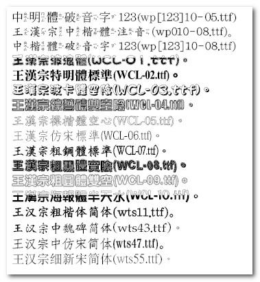 王漢宗自由字型-2