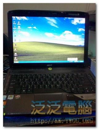 宏碁 Acer ASPIRE 4730ZG Vista改XP