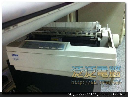 EPSON LQ-300+ 維修