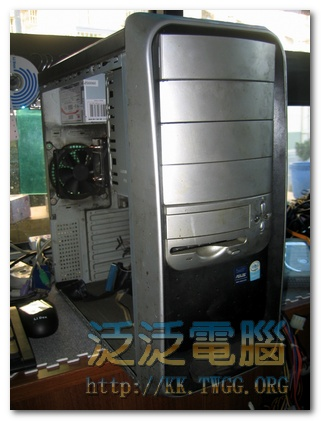 [維修]華碩 P5GC-MX 「工廠機械傳輸用電腦,無法開機」