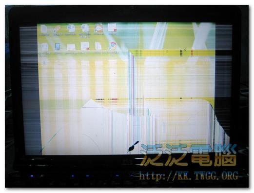 [維修]惠普 HP Pavilion dv1000「面板破裂」