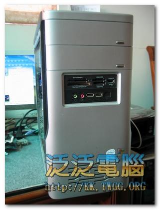 聯強電腦/華碩 P5GC-MX/G8L「中毒、系統重灌」