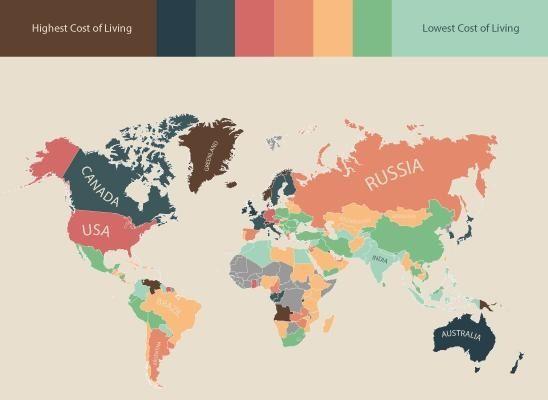 世界各國物價指數圖