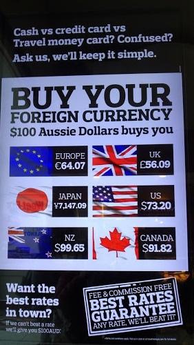 OZ Travel money 匯率