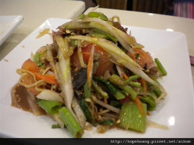031416ZEN內YUM SAAP午餐青木瓜絲炒麵 (小型)