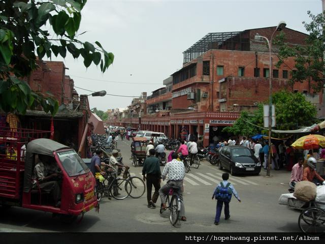 印度 558717捷普街道 (小型)