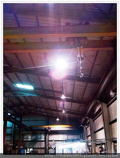 機械廠,400W水銀改250W陶瓷複金屬燈,節電37%,照度130Lux >>>250~350Lux