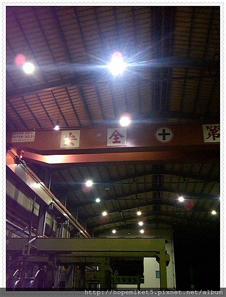 電機廠,500W水銀燈改250W陶瓷複金屬燈,節電50%,照度60Lux >>>150Lux
