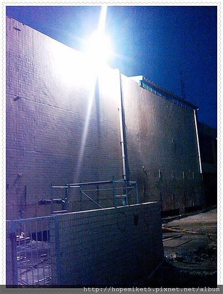 紡織廠,1000W複金屬燈改250W陶瓷複金屬燈,節電75%,照度50Lux >>>100Lux