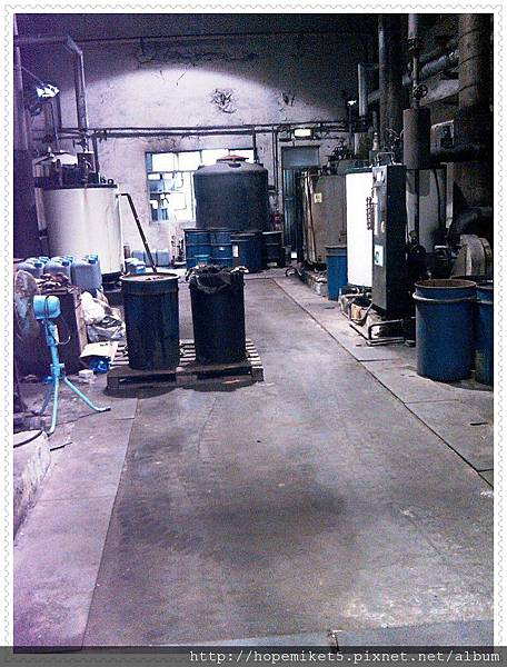 化工廠,400W水銀燈改150W陶瓷複金屬燈,節電60%,照度100Lux >>>300Lux