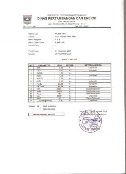 鐵砂成份表HasilAnalisa1Fe Distamben[.jpg