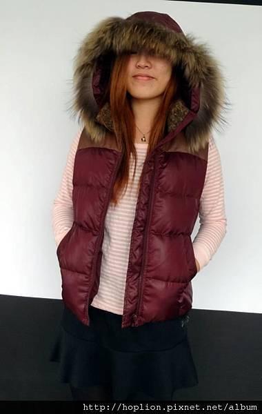 女背心(076#) 紫紅色,S~2XL,售價3280元 -1
