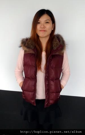女背心(076#) 紫紅色,S~2XL,售價3280元 -2