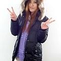 #03017女裝中長版羽絨外套,黑 售價3980元 3