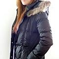 #03017女裝中長版羽絨外套, 黑 售價3980元 4