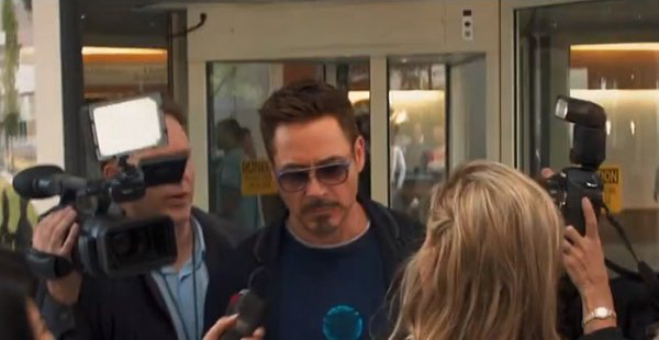 小勞勃道尼在《鋼鐵人3》Matsuda彰化宏恩眼鏡