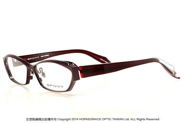 彰化宏恩眼鏡精品 SPIVVY 13933紅-1-2