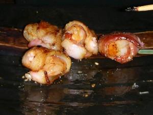 串燒培根蝦仁