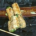 串燒雞肉捲