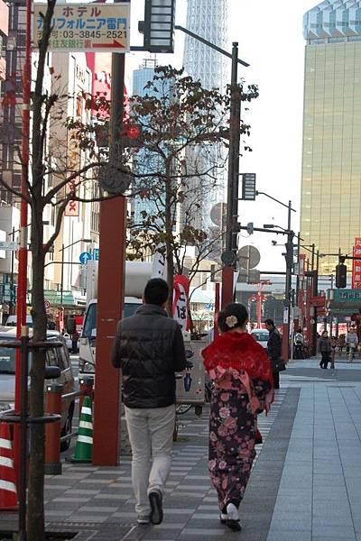 東京和服体验、東京和服體驗