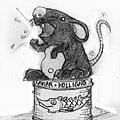 ▓演講的老鼠原稿2.0版-M(演講老鼠(以鉛筆繪;原圖極小)