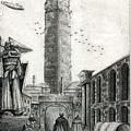 [殛天之翼]西迪利亞風和日麗(小於A4.0.3自動鉛筆手繪;建物:平等塔)
