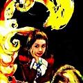 「鏡之國」火焰公主不等人(2004,人物:火焰公主,手打草稿後以便宜手寫板合上顏色))