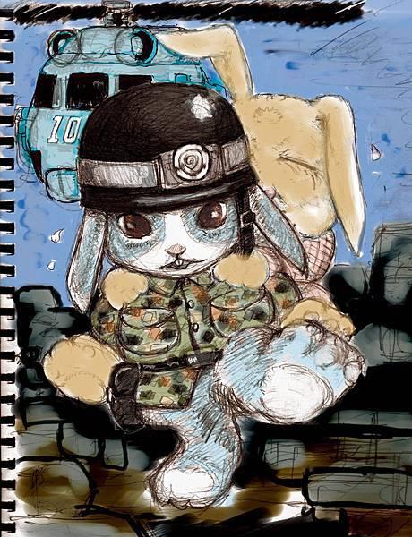 兔年的苦難與勇氣