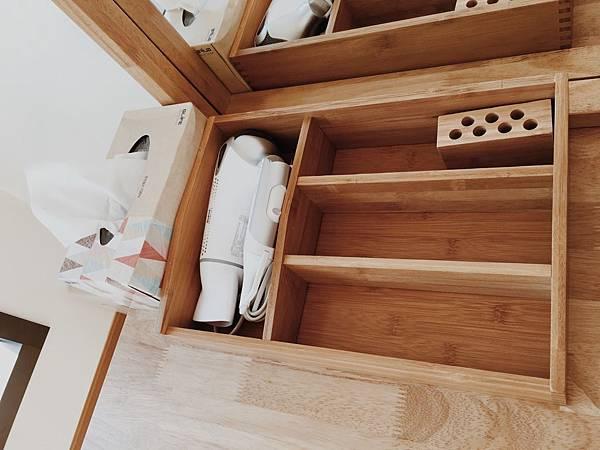 兩人房化妝品整理木盒