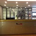 5F 入住櫃台位於Lounge公用空間內