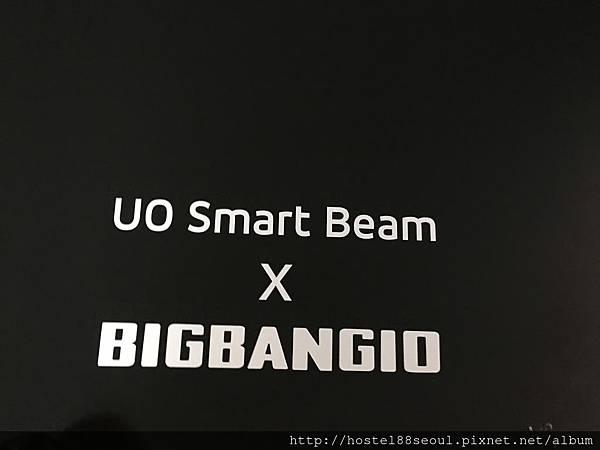 攜帶型投影機跟BIGBANG合作