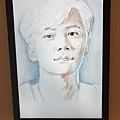 李宰鎮自畫作