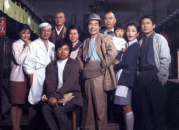 山田洋次與男人真命苦演員全體.jpg