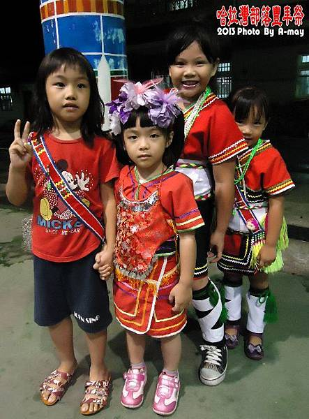 BC212  玉里。哈拉灣部落豐年祭02