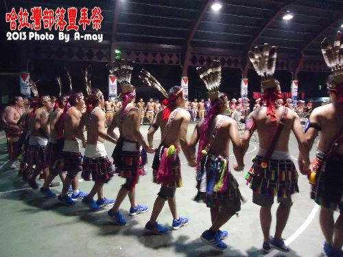 BC212  玉里。哈拉灣部落豐年祭06
