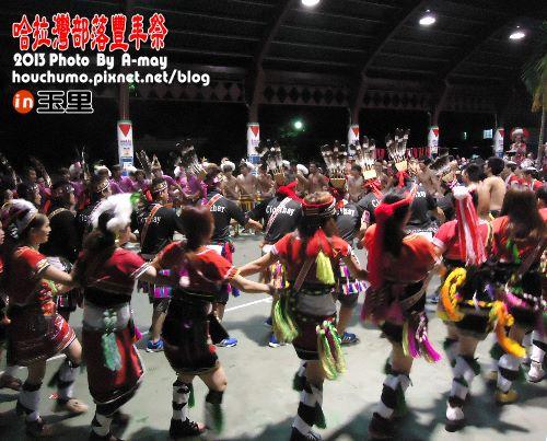 BC212  玉里。哈拉灣部落豐年祭09