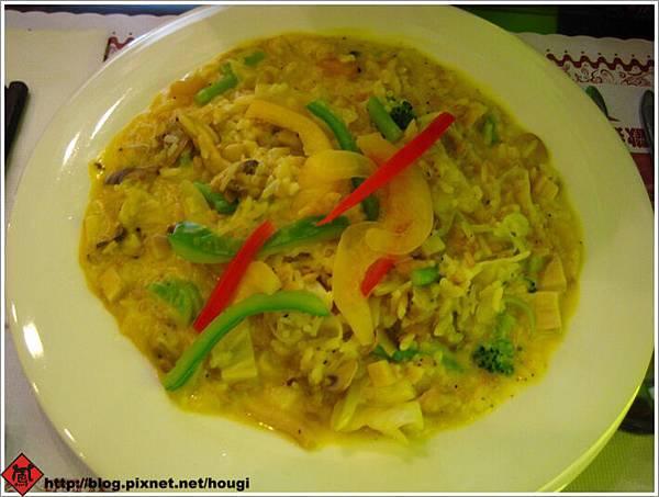 植善的歐式料理---南瓜磨菇燉飯