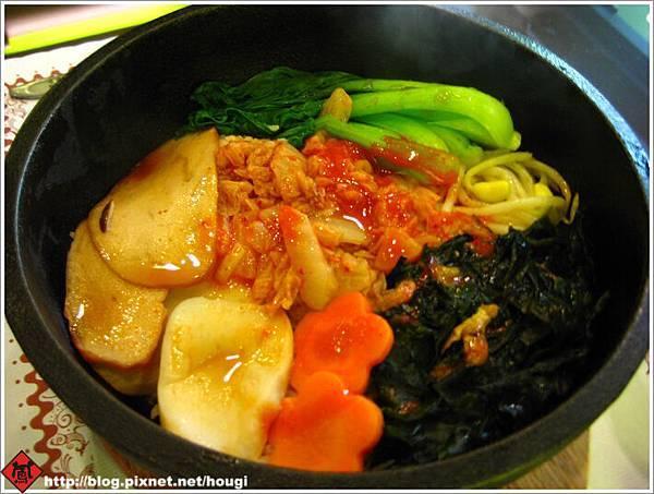 植善蔬食的韓式料理---石鍋拌飯