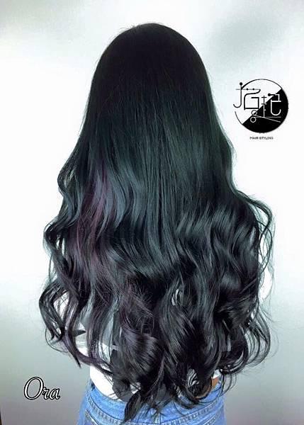 墨綠✖️紫