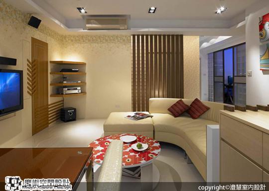 [魔術空間設計]室內設計作品-澄慧設計-解博淳-寓以自然元素,觸動最佳生活磁場