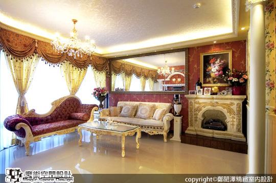 [魔術空間設計]室內設計作品-鄭閎澤精緻室內設計-解博淳-大都會的美式居家