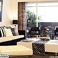 [魔術空間設計]室內設計作品-擷發室內設計-林木發-引綠入室、釋放壓力,創造射手座的新東方休閒風格