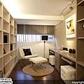 [魔術空間設計]3D室內設計作品-擷發室內設計-林木發-引綠入室、釋放壓力,創造射手座的新東方休閒風格