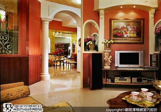 [魔術空間設計]室內設計作品-鄭閎澤精緻室內設計-鄭閎澤-中坪數格局 也能擁抱感動人心的英式古典風