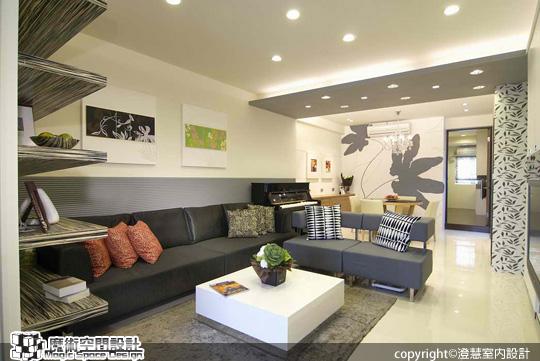 [魔術空間設計]室內設計作品-澄慧設計-解博淳-老式長屋克服採光、動線,展現陽光魅力