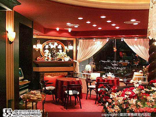 [魔術空間設計]室內設計作品-鄭閎澤精緻室內設計-下一站,幸福 散發新婚喜悅的歐風禮餅門市