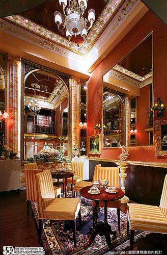 [魔術空間設計]室內設計作品-鄭閎澤精緻室內設計-頂級時尚會館 體驗宮廷饗宴不用遠赴歐洲