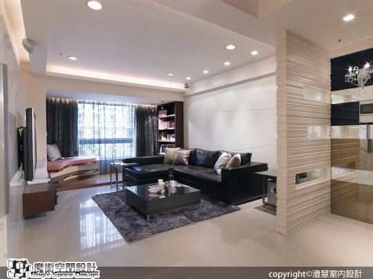 [魔術空間設計]室內設計作品-澄慧室內設計-都會剪裁、個性線條,訂製尊爵品味居宅