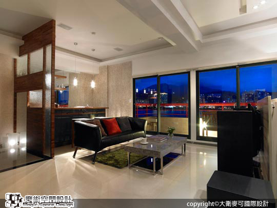 [魔術空間設計]室內設計作品-大衛麥可國際設計-張紫嫺 -遠眺地中海的浪漫雅居