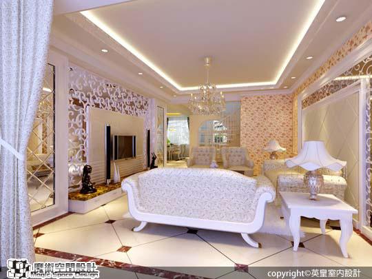 [魔術空間設計]室內設計作品-英皇室內設計-英皇室內設計 -一屋雙風格,新古典、現代時尚風同樣迷人